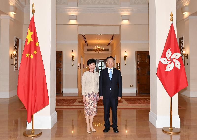 CE meets Secretary of CPC Guangdong Provincial Committee